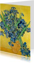 Bloemenkaarten - Vincent van Gogh. Irissen