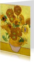 Bloemenkaarten - Vincent van Gogh. Zonnebloemen