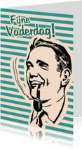 Vaderdag kaarten - Vintage Fijne Vaderdag
