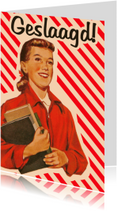 Geslaagd kaarten - Vintage Geslaagd