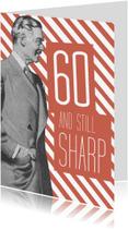 Verjaardagskaarten - Vintage man 60