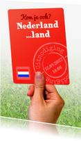 Uitnodigingen - Voetbalkaart Nederland tegen... - BK