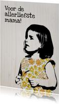Moederdag kaarten - Voor de allerliefste ma
