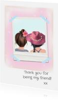 Vriendschap kaarten - Vriendschap met Loulou & Ting