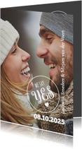 Trouwkaarten - We say yes-isf