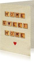Welkom thuis kaarten - Welkom thuis Vintage