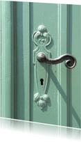 Verhuiskaarten - Who lives behind this door? - OT