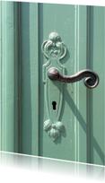 Felicitatiekaarten - Who lives behind this door? - OT