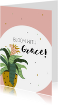 Woonkaart: Bloom with grace