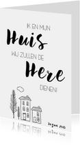 Woonkaarten - Woonkaart: Ik en mijn huis