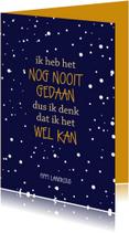Woonkaarten - Woonkaart  spreuk Pippi Langkous