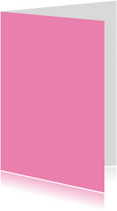 Blanco kaarten - Zacht roze staand dubbel