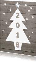 Nieuwjaarskaarten - zakelijke nieuwjaarskaart 2018