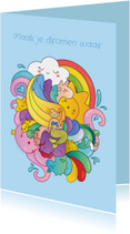 Kinderkaarten - Zeemeermin Droom - KO