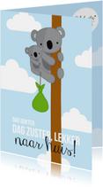 Welkom thuis kaarten - Ziekenhuis Koala Naar huis