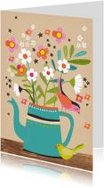 Zomaar kaarten - Zomaar kaart bos bloemen