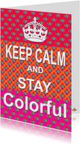 Coachingskaarten - Zomaar kaart Colorful PA