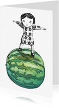 Zomaar kaarten - zomaar-meloen-kk