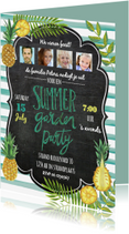 Uitnodigingen - Zomer tuinfeest uitnodiging