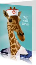 Beterschapskaarten - Zuster Giraf