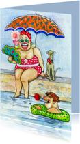 Vakantiekaarten - Zwembad