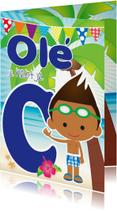 Geslaagd kaarten - Zwemdiploma Ole C Eros