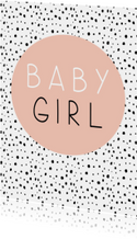 Baby - Baby Girl - Oudroze stipjes