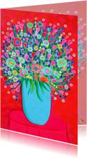 Bloemenkaart Kleur PA