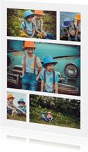 Collage Kinderfeestje met 5 foto's