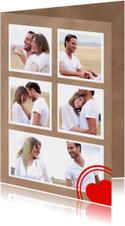 Collage Valentijn 5 foto's - DH