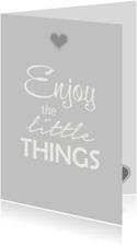 Enjoy things