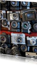 Fotokaart oude fototoestellen