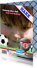 fotolijst voetbal zelf invullen