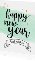 Happy new year / best wishes
