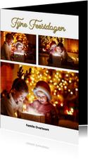 Kerstkaart fotocollage staand 2019