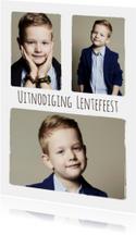 Lentefeest collage 3 foto's - BK