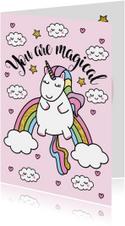 Liefdeskaart Unicorn Magical