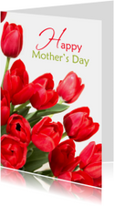 Moederdagkaart Happy Mother's Day