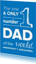 Number one dad of the world