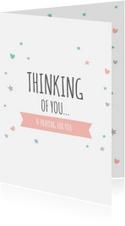 Religie kaarten Christelijk Thinking of you...