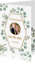 Save the date euqalyptusblad