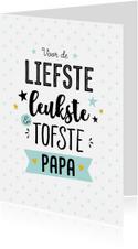 Vaderdagkaart tofste papa