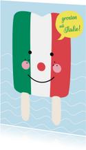 Vakantie-Groeten uit Italie!-HK