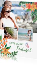 Vakantiekaart vanuit Portugal of ander land