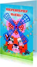 Verjaardagskaart Molen PA