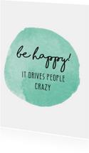 woonkaart - BE HAPPY!