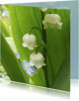 Bloemenkaarten - 2 bloemetjes