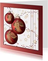 Kerstkaarten - 3 bal engelen