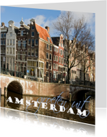 Vakantiekaarten - 4K Amsterdam keizersgracht