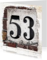 Verjaardagskaarten - 53 feli
